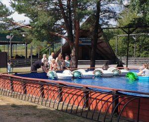 Basen z łódkamic | Park Rozrywki Białystok