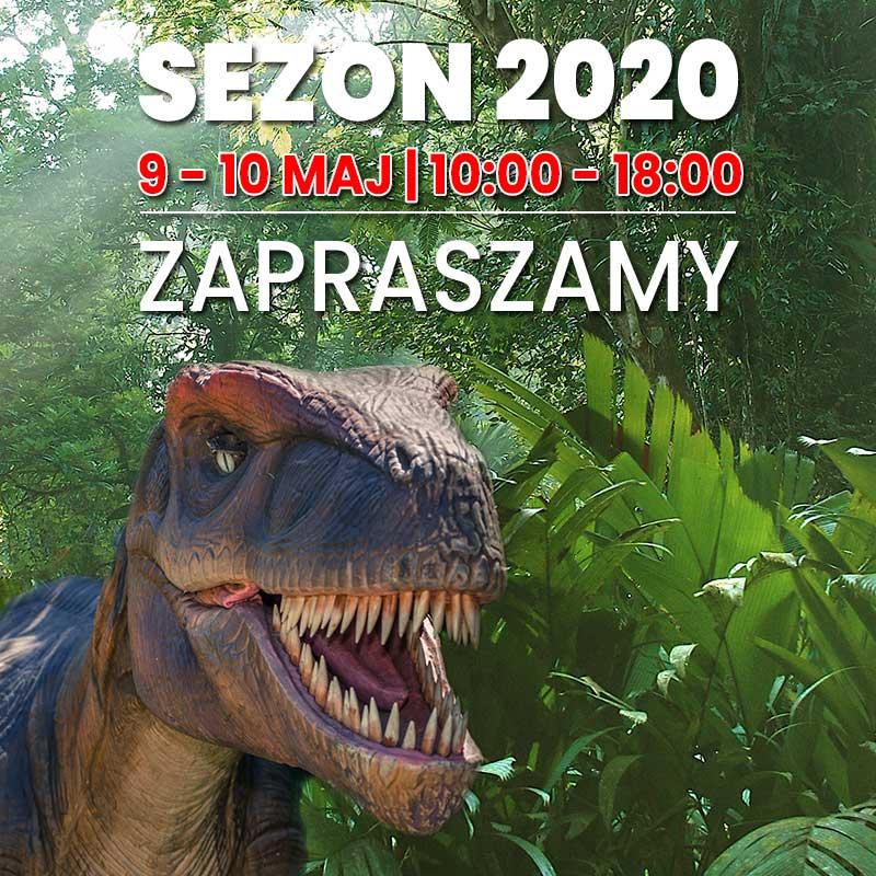 Otwarcie sezonu na Dinozaury 2020